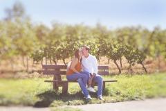 Herzchen in den Weinbergen