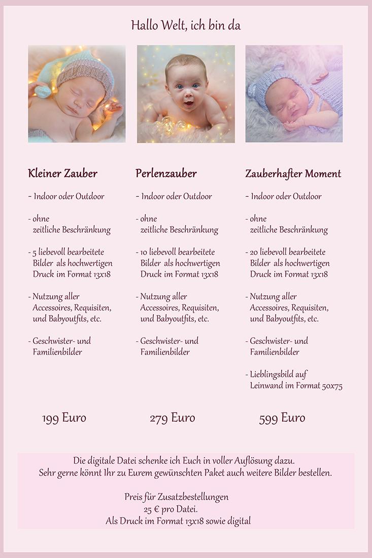 Informationen und Preise Babies